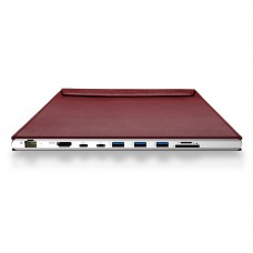 DockCase A1 for MacBook 12 inch - Red