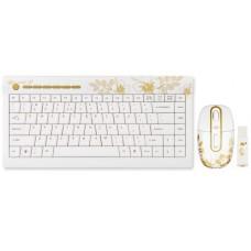 Gembird - Golden Sunsire - Draadloos muis en toetsenbord set