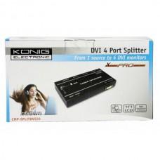 4-poorts DVI splitter